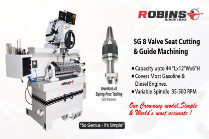 Van Norman Machine(India) Pvt. Ltd, seat and guide machine , Valve seat cutting machine