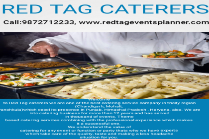 Red Tag Caterers, Best Caterer in Chandigarh, Top Caterers in Chandigarh, Prevailing Caterers in Chandigarh,