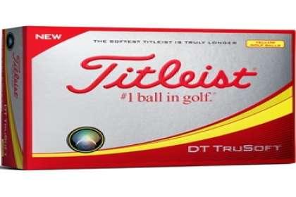 WORLD OF GOLF & SPORTS., Titliest DT Trusoft  Golf Balls Offer
