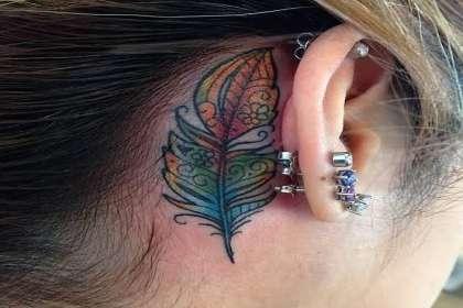 MJ Tattoos Studio & Academy, Feather tattoo