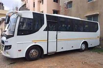 GetMyCabs +91 9008644559,  50 seater bus rental in bangalore airport,50 seater bus rental in bangalore india