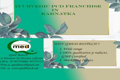 Qmedbiotech, Ayurvedic Pcd Franchise in Karnatka, Herbal base pcd franchise companies, Best ayurvedic pcd franchise companies in india, Pcd ayurvedic franchise, ayurveda company in punjab, ayurvedic pcd franchise