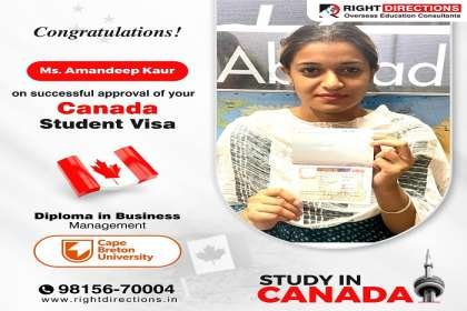Right Directions,  Canada student visa  services in landran, Canada visa  services in landran, Canada student visa  consultant  in landran, Canada immigration in landran