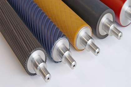 Hi Tech Rolls, rubber roller manufacturer in Punjab,  rubber roller Punjab, rubber roller coating Punjab, rubber roller for Mask machines, Rubber Roller for laminate Industry