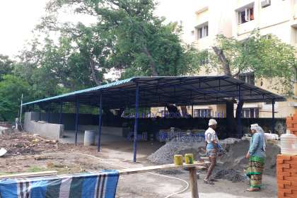 Quality Roofs Pvt Ltd, Diary Farm Cow Shed Roofing Contractors In Chennai, Diary Farm Roofing Shed, Roofing Material