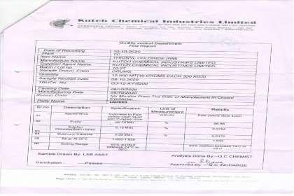 Ladder Fine Chemicals, Thionyl chloride  98 %, CAS #  7719-09-7, THIONYL CHLORIDE,