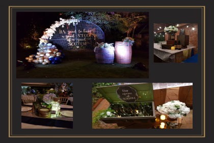 Urban Events, Lightning Up The Evening Party With Rustic Element!!!!
