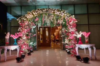 Urban Events, The Glorious Floral Arch Entrance