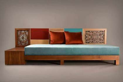 Lucky Furniture, Sofa launcher design in wooden, launcher sofa images, launcher sofa set, living room furniture.