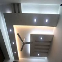 Pop False Ceiling Contractor In Hyderabad By R 7 Interiors In City