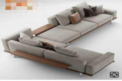Lucky Furniture, L shape sofa set in Zirakpur, l shape sofa set with storage, l shape sofa set models.