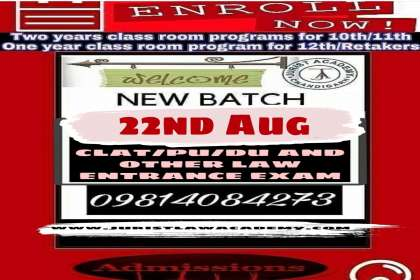 JURIST LAW ACADEMY, best online law entrance coaching in Chandigarh, clat coaching in Chandigarh, clat coaching institute in Chandigarh