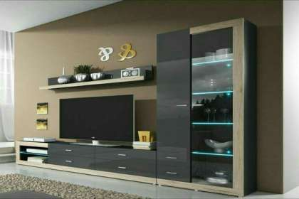 Lucky Furniture, Wooden Lcd Rack in zirakpur, wall hanging Lcd panel, simple lcd Rack Panel,