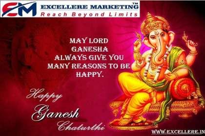 Excellere Marketing, #happyganeshchaturthi #ganpatibappamorya  #ganeshchaturthi2019  #lordganesha