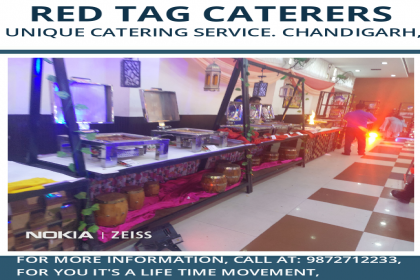 Red Tag Caterers, Top Caterer in Chandigarh, Unique caterer in Chandigarh,