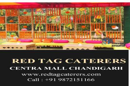 Red Tag Caterers, Best professional catering in Chandigarh, best outdoor catering in Chandigarh, best luxury catering in Chandigarh.