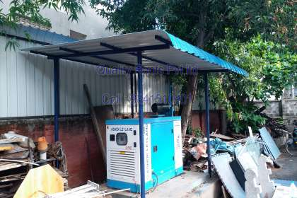 Quality Roofs Pvt Ltd, Turnkey Roofing Contractors in Chennai, Metal Roofing Construction, Warehouse Shed Construction In Chennai, Metal Roofing Prices In Chennai, Badminton Roofing