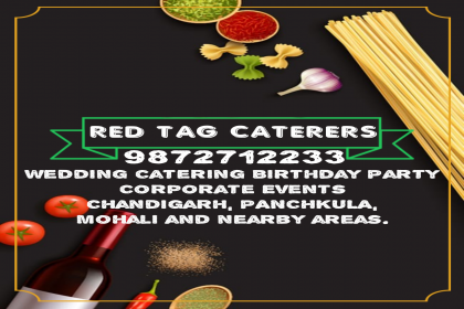 Red Tag Caterers, Best wedding planer in Mohali,