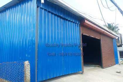 Quality Roofs Pvt Ltd, Metal Roofing Contractors In Chennai, Metal Roofing Shed Work In Chennai, Polycarbonate Roofing, Terrace Roofing Shed, Warehouse Roofing Shed