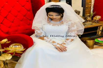 SPARKLES WEDDING GOWNS , WEDDNG GOWNS ON HIRE  #BEST BRIDAL SHOP IN BANGALORE # GOWNS ON RENT   # CHRISTIAN WEDDING GOWN   #BRIDAL GOWN   #DESIGNER GOWNS  # RECEPTION GOWNS   #MARRIAGE FROCK   # GOWN SPECIALIST