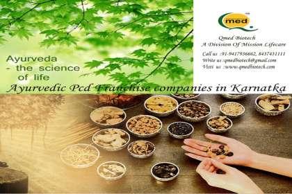 Ayurvedic Pcd Franchise in Karnatka - Qmedbiotech, Ayurvedic Pcd Franchise