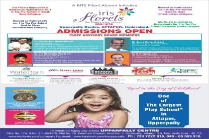 irisflorets, kids school in upperpally,play school in upperpally,pre school in upperpally