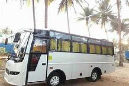 GetMyCabs +91 9008644559,  21 seater bus rental in bangalore airport,15 passenger van rental