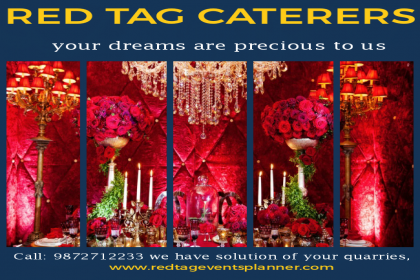 Red Tag Caterers, Best Caterer in Chandigarh, top caterer in Chandigarh, authentic caterer in Chandigarh,