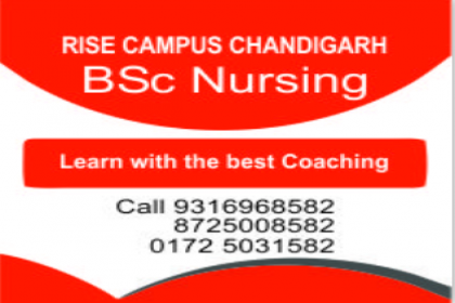 Coaching preparation in MOHALI for BSc Nursing