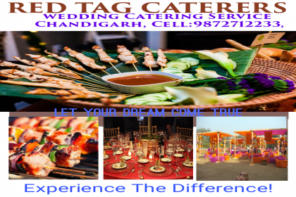 Red Tag Caterers, Best Caterers in Chandigarh, Hanging Caterers in Chandigarh,
