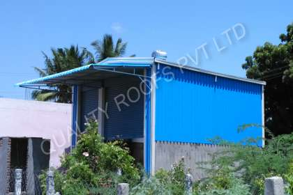 Quality Roofs Pvt Ltd, Industrial Metal Roofing Shed In Pondicherry.industrial Roofing Contractors In Pondicherry,Polycarbonate Roofing Shed In Pondicherry,Asbestos Roofing Shed In Pondicherry,Roofing Work In Pondicherry