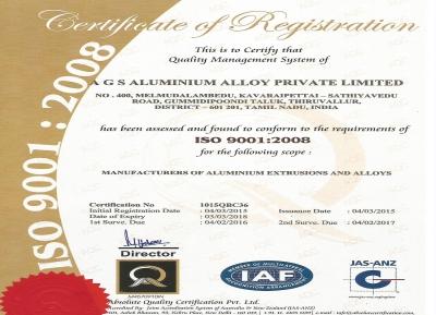 AGS ALUMINIUM ALLOY PVT LTD